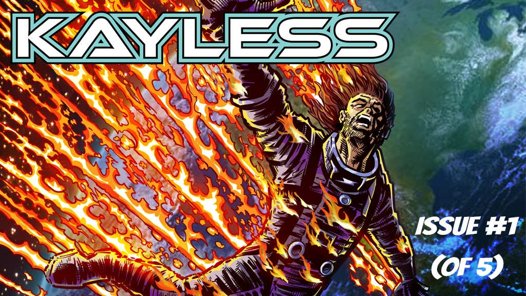 Kayless issue #1 project video thumbnail