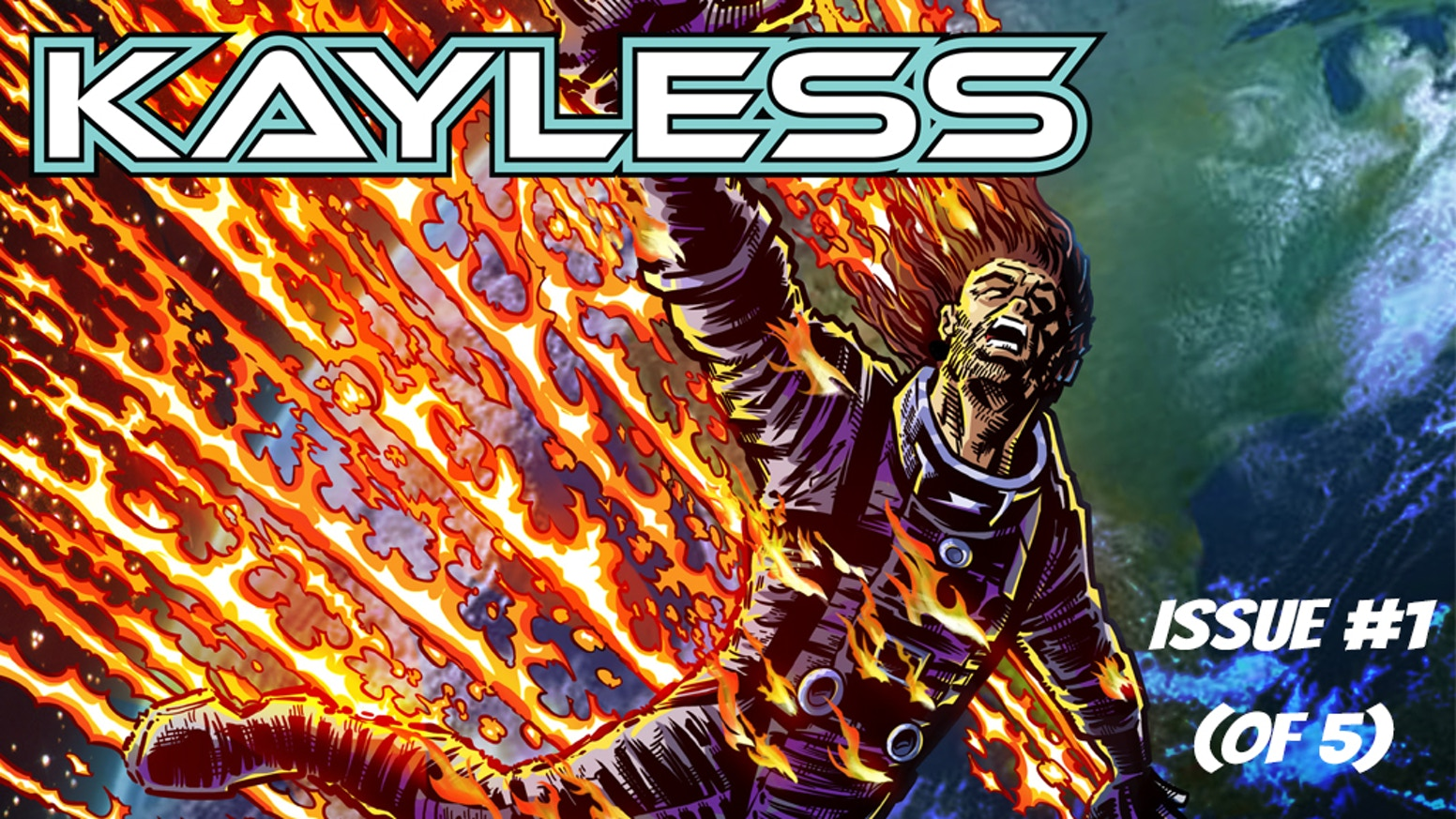 Kayless issue #1 by Brent Larson, Luis Czerniawski, and Leandro Huergo