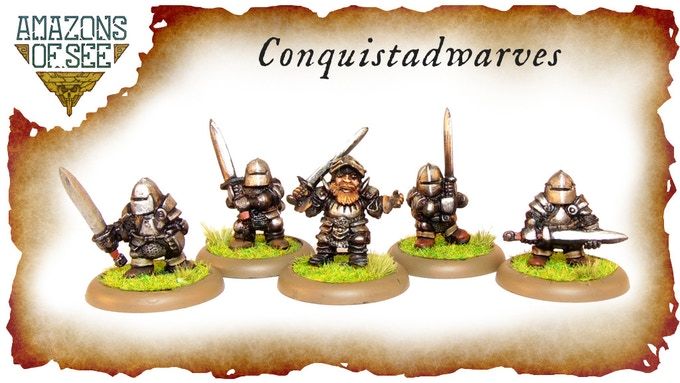 Armoured Dwarves