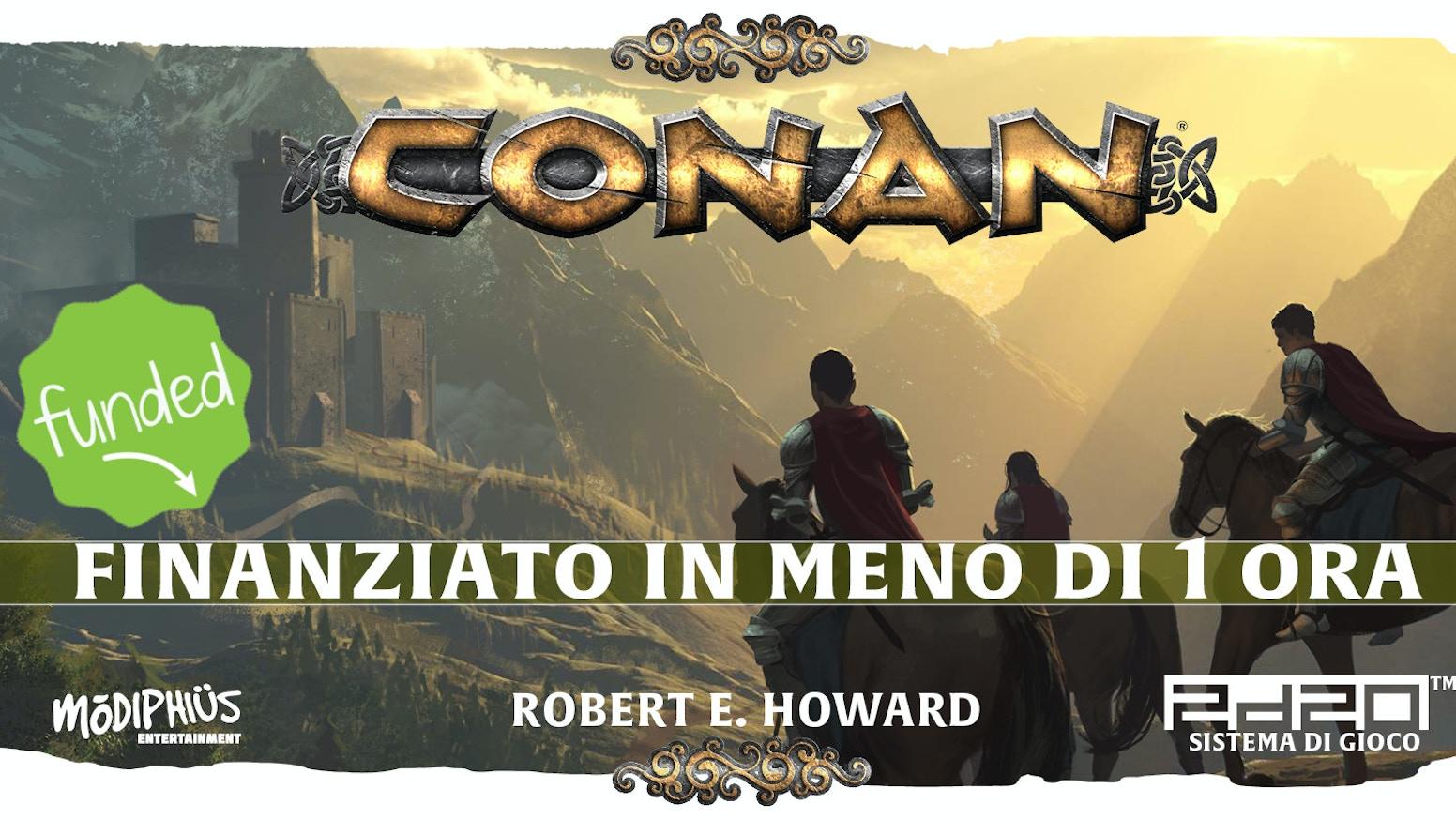 Questo è il GdR di Conan come Robert E. Howard lo scrisse – avventure cruente e selvagge contro antichi orrori nell'Era Hyboriana.
