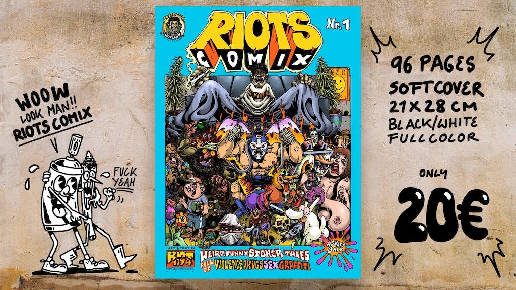 RIOTS - COMIX project video thumbnail