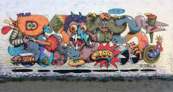 RIOT Wallpainting example