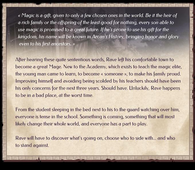 Valentyne Stories Necromancy - BL/Yaoi Visual Novel by