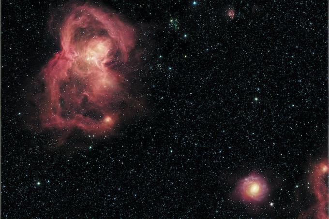 Game mat : Nebula
