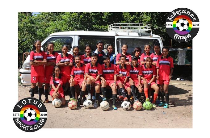 The Lotus Sports Club Football Team.