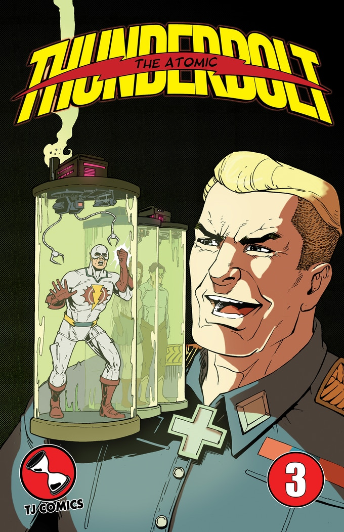 The Atomic Thunderbolt #3 cover