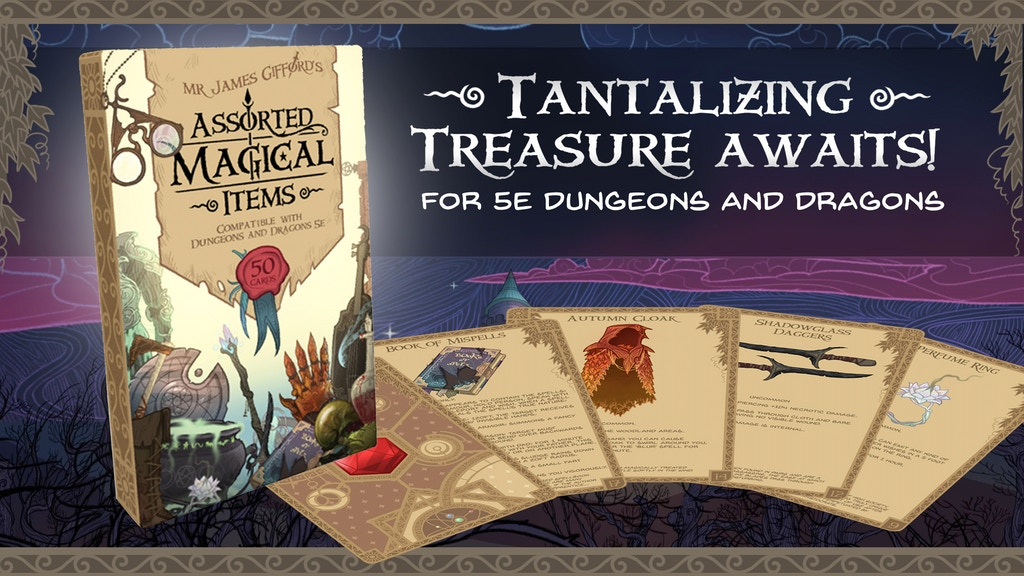 The Assorted Magical Items Deck project video thumbnail