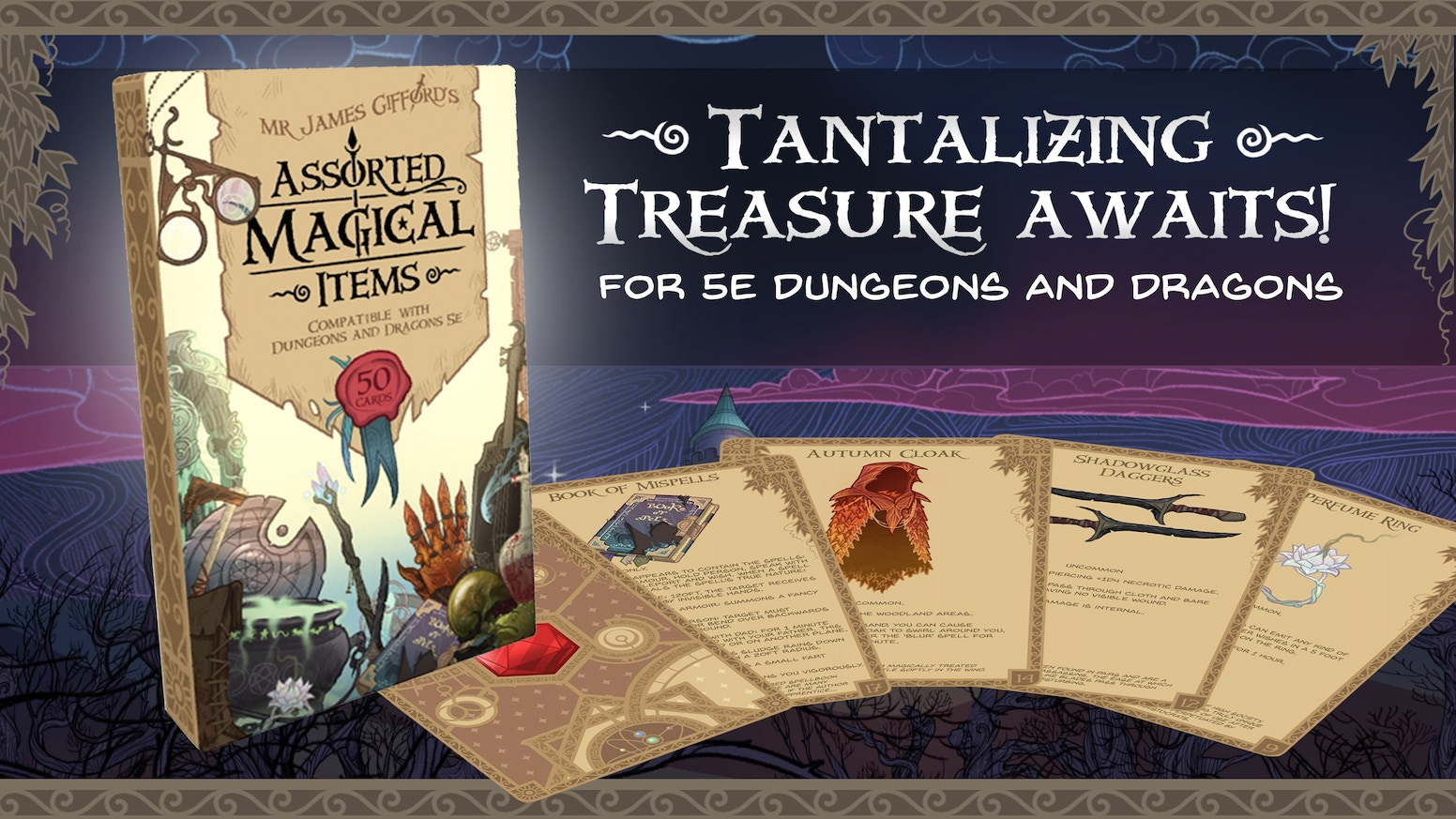 The Assorted Magical Items Deck by James Gifford — Kickstarter