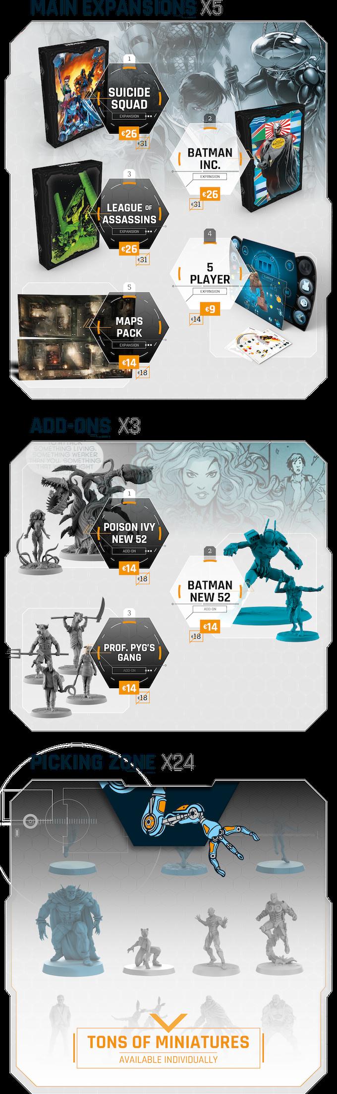 Batman: Gotham City Chronicles - Season 2 by Monolith Board