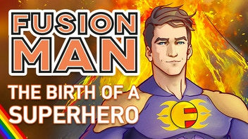 Fusion Man, The Birth Of A Superhero