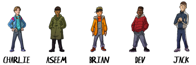 Our Main Characters