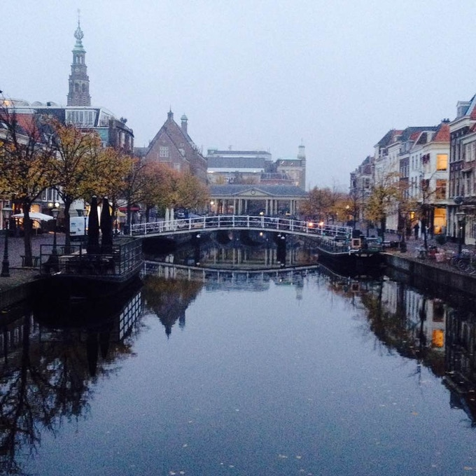 It all started in Leiden, a charming Dutch town boasting many canals  -  Picture by Sal Hendrie ©