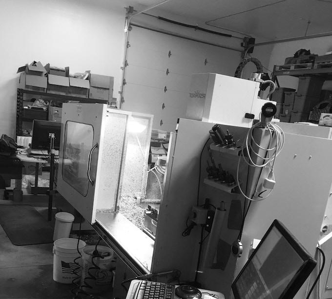 The Machine shop!