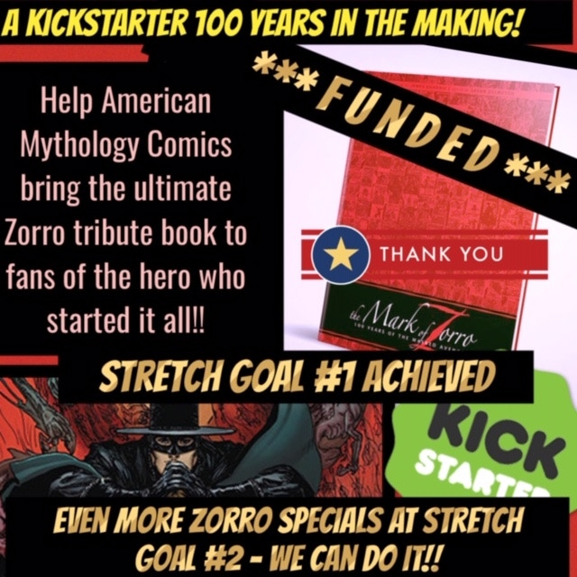 Stretch Goal #1 Achieved!  Thank you!