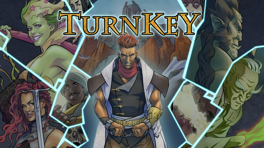TurnKey #1: RPG Fantasy Adventure Comic Series project video thumbnail