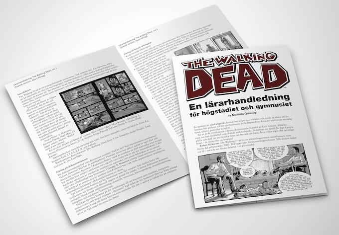 Lärarhandledning för The Walking Dead (högstadiet och gymnasiet).