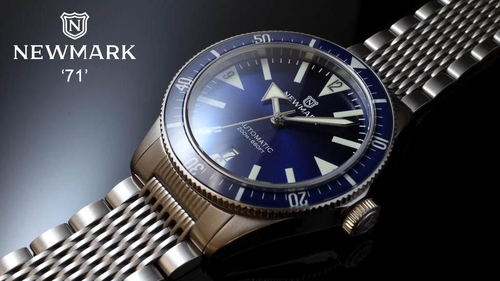 Newmark 71 - A Classic British Vintage Dive Watch Reissue project video thumbnail