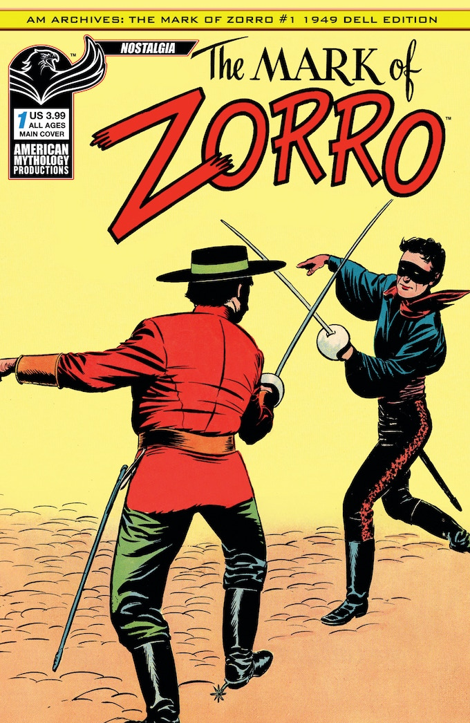 Check out this and all of our Zorro comics at: http://www.americanmythology.net/shop