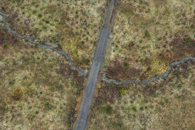 Battle Mat : Swamp and Road