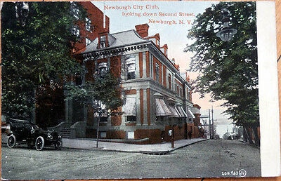 Postcard of the City Club site in 1910, the inspiration for our postcard rewards