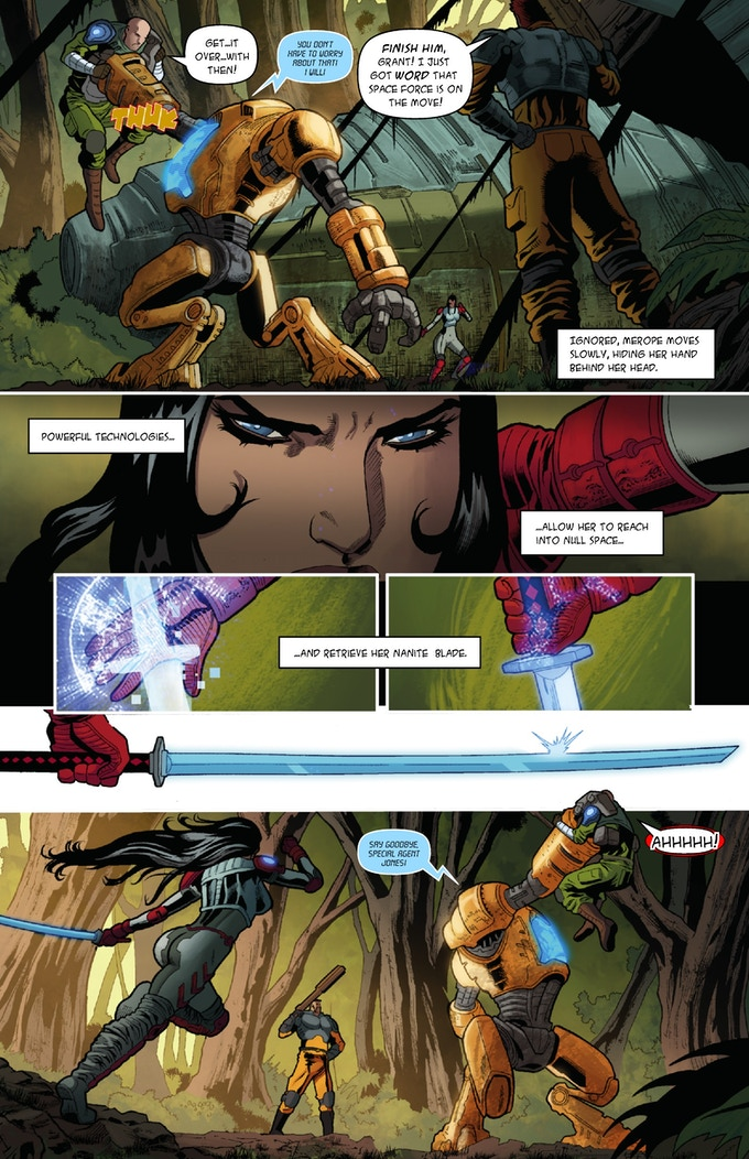 The 7th Sister #2 , Page 10