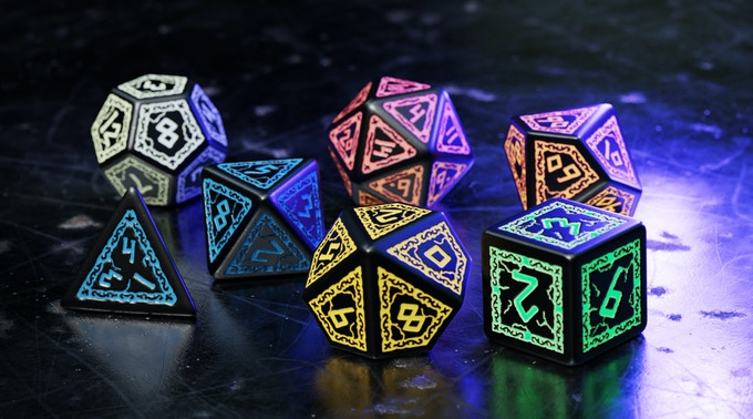 Stone Breakers Dice Set