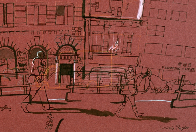 The Bowery (detail)
