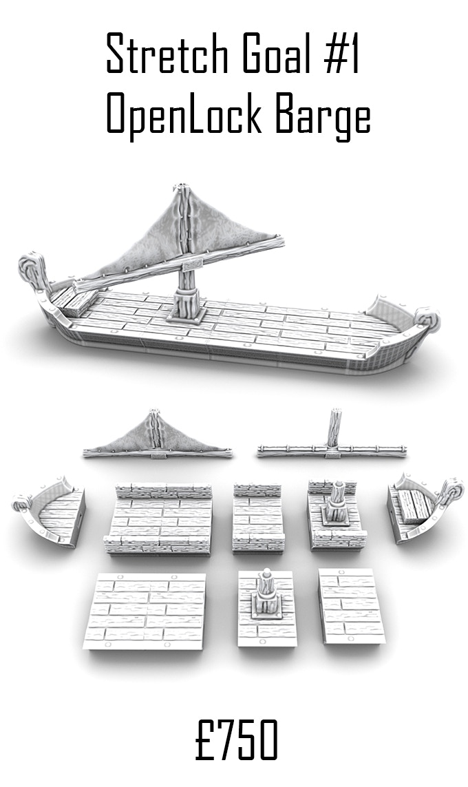 Project Updates for 3D Printable 28mm Fantasy Scenery - Dragonbite