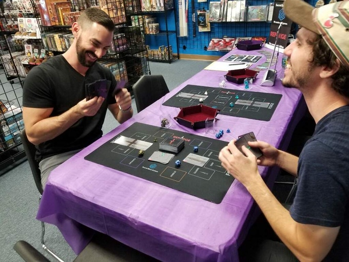Photo from demo event at Cool Comics & Games in Cape Coral, FL.