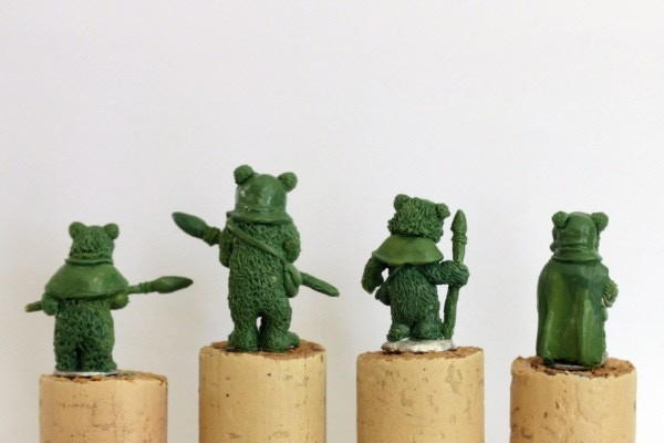 Rear view of the Small Bears