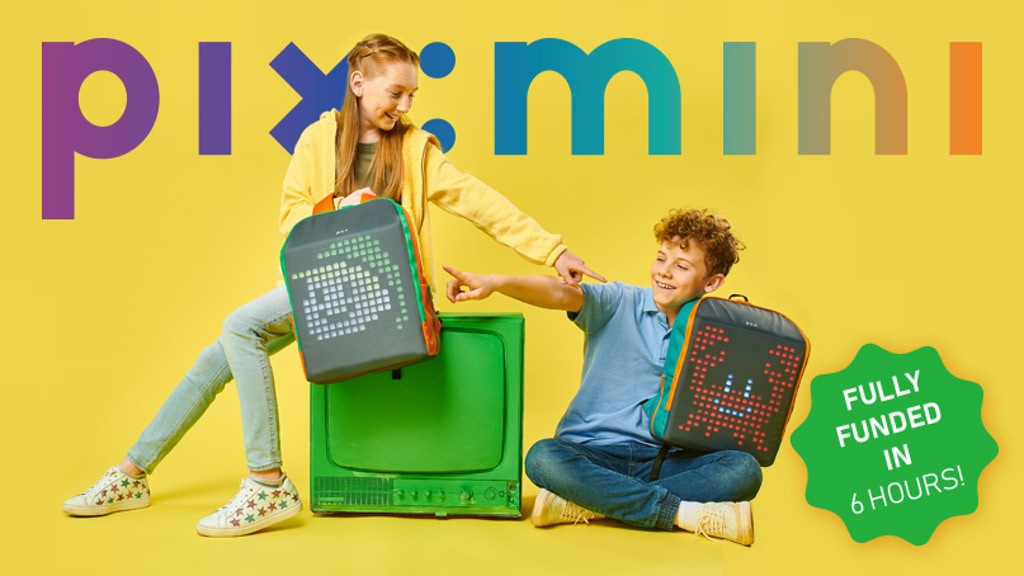 Pix Mini: The First Smart Backpack FOR KIDS! project video thumbnail