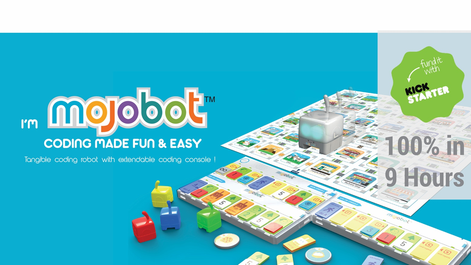 Teaching kids computer science and robotics through fun games and that brings family and friends togethe!  NOW Available on Amazon.com
