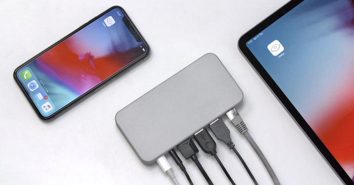 True wireless connectivity with an all-in-one hub compatible with every iPhone and iPad version