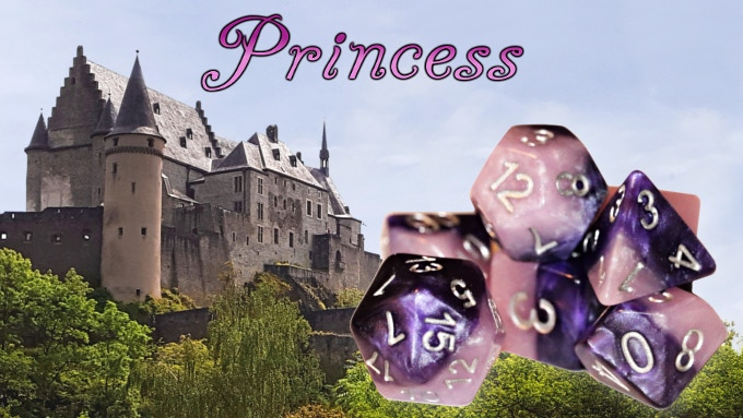 All New Design - Colors: Princess Purple & Fairy Pink - w/ Silver Ink