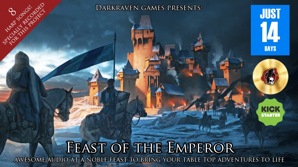 Feast of the Emperor - Audio for Role-Playing Adventures project video thumbnail