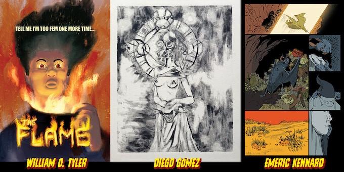 Sample images; actual artwork may vary.