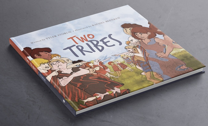 mock-up image of Two Tribes