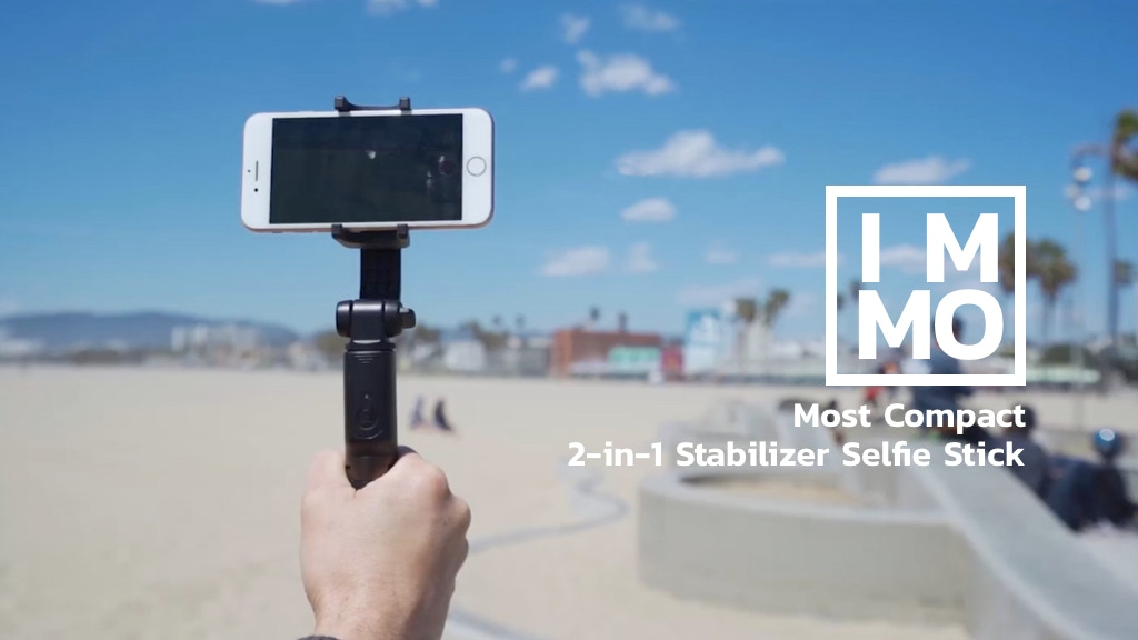 IMMO: Most Versatile and Compact Phone Stabilizer project video thumbnail
