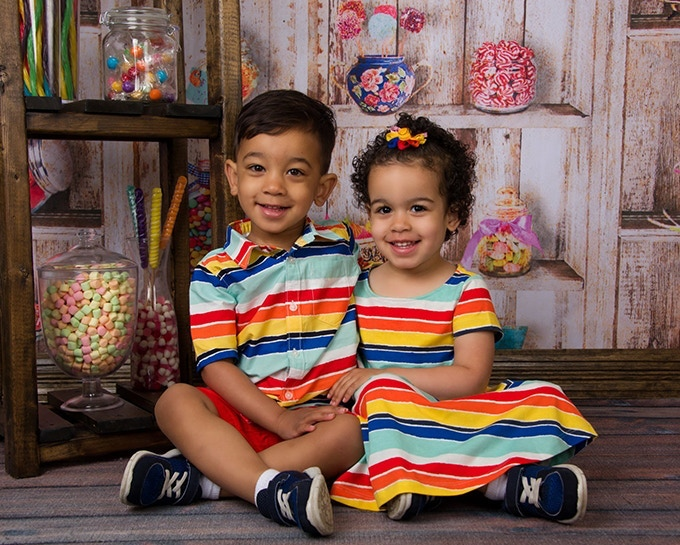Two Year-Old Twins Quinn & Alex or as we call them Q & A