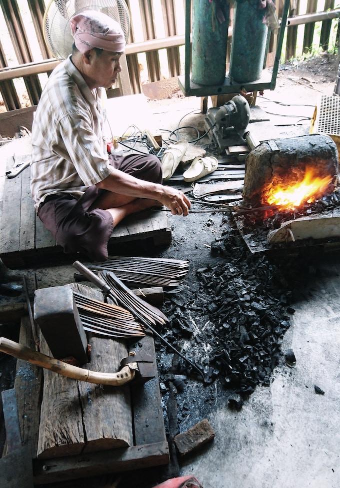 SIAM BUSHCRAFT ENEP - Thai Hand Crafted Bushcraft Knife by
