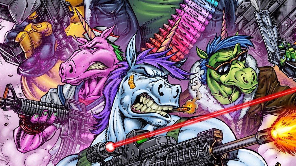 Warcorns: Combat Unicorns for Hire project video thumbnail