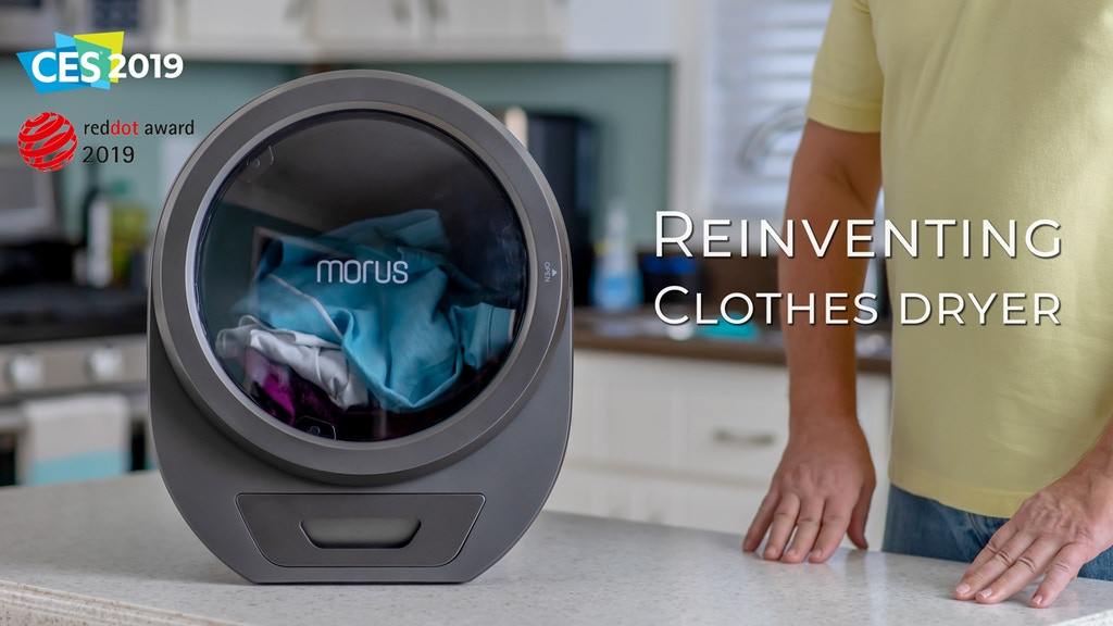 Morus Zero | Ultra-fast countertop tumble dryer for any home project video thumbnail