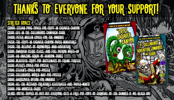 Exciting new Dungeon Crawl Classics RPG content from Mark Bishop and Purple Sorcerer Games