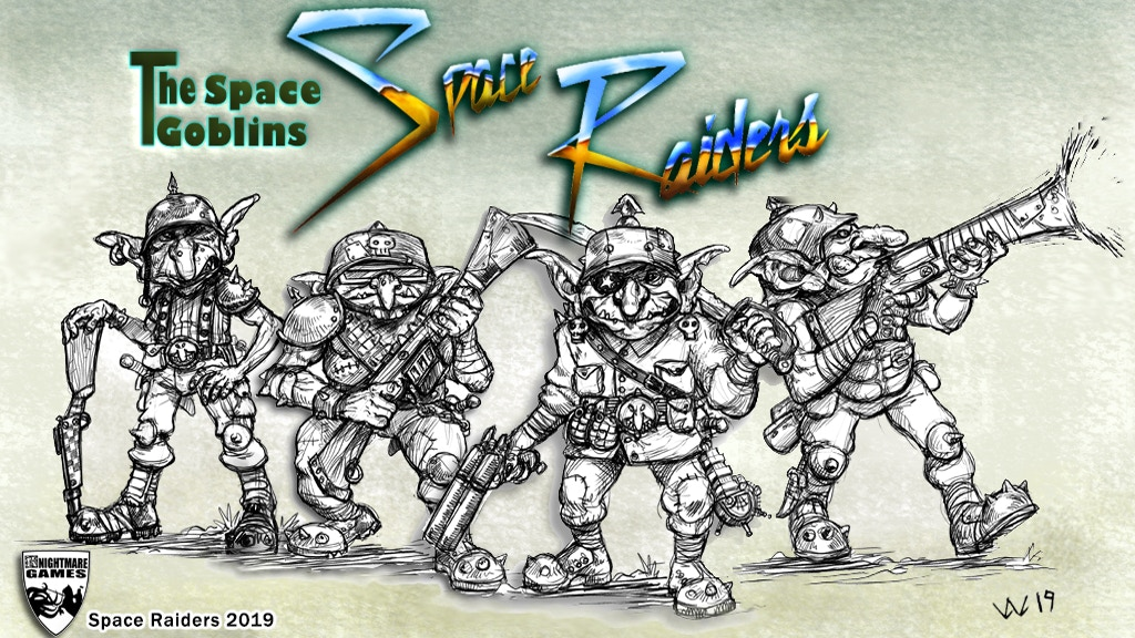 Project image for Space Raiders - The Space Goblins!