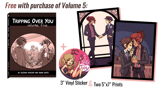 All items currently unlocked that come free with a purchase of Volume 5!