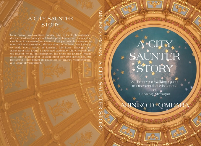 A City Saunter Story cover