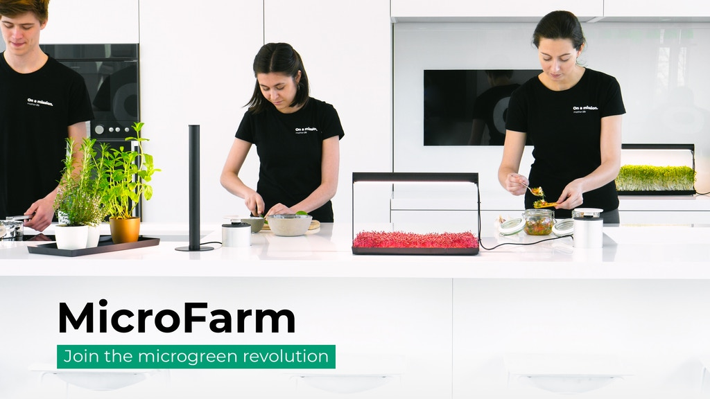 MicroFarm: Join the Microgreen Revolution project video thumbnail
