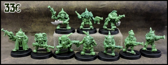 10 Space Goblins squad