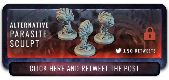 150 retweets and this alternative sculpt will be yours!!!