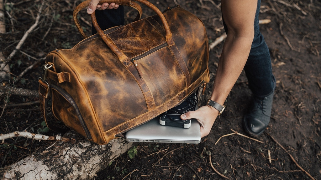 Kodiak Leather: The Ultimate Leather Travel Bag project video thumbnail